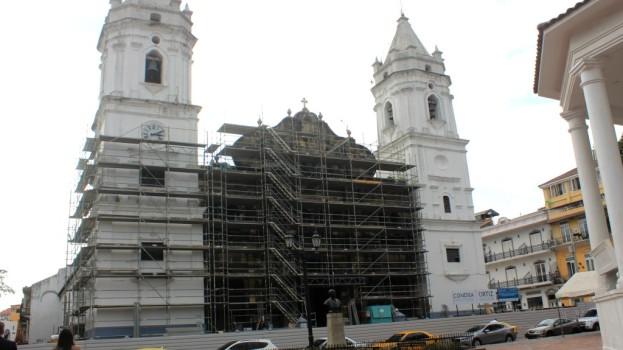 Inician trabajos de restauración en Basílica Catedral