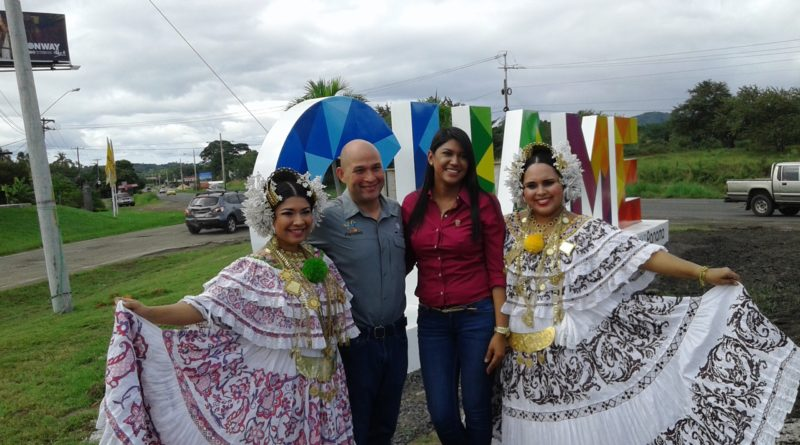 Inauguran parador fotográfico en Chame
