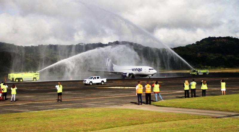 Llega primer  vuelo de Wingo a Panamá